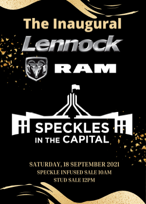 Speckles in the Capital Sale Yass Catalogue 2021